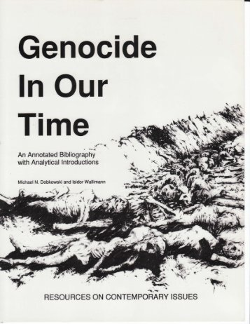 DOWNLOAD Genocide in Our Time - NewFoundations