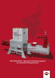 THE CROCODILE – Maximaler Entwässerungsgrad mit minimalem ...