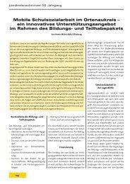 Mobile Schulsozialarbeit im Ortenaukreis - Landkreistag Baden ...