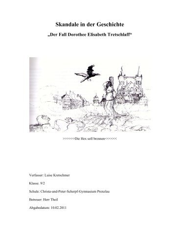 Der Fall Dorothee Elisabeth Tretschlaff