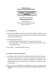 Fachhochschule Eberswalde - Hochschule für nachhaltige ...
