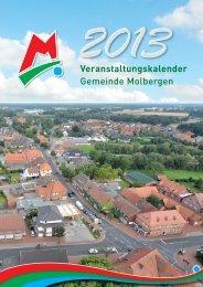 Veranstaltungskalender Gemeinde Molbergen