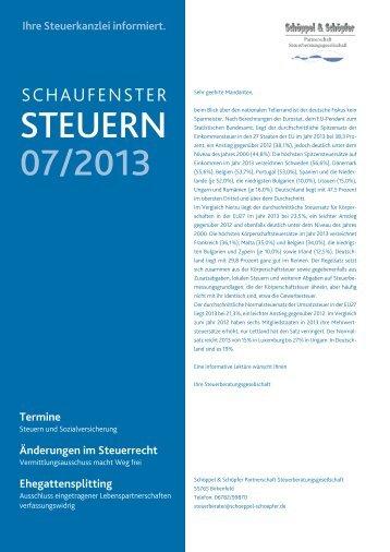 STEUERN 07/2013 - schoeppel-schoepfer.de