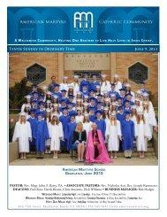 June 9, 2013 - American Martyrs Church