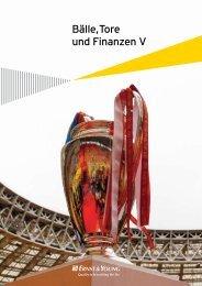 Bälle, Tore und Finanzen V (2008) - SPONSORs