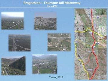 Thumane Toll Motorway