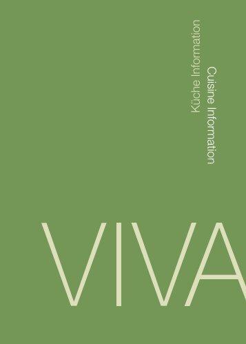 Cuisine InformationKüche Information - VIVA - Das Zentrum für ...