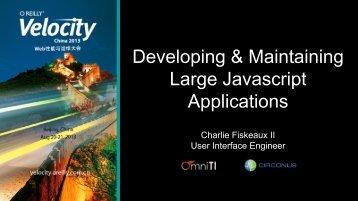 Charlie Fiskeaux II User Interface Engineer