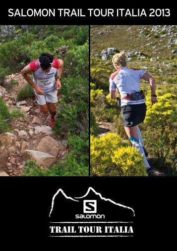 brochure salomon trail tour italia scaricabile - Cima Tauffi Fanano
