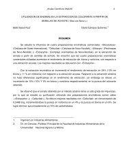 XXXI - Universidad Nacional Agraria La Molina
