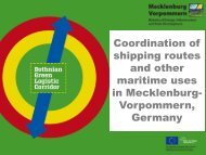 Coordination of shipping routes and other maritime ... - PartiSEApate