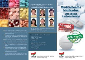 Medicamentos falsificados: - GUE/NGL
