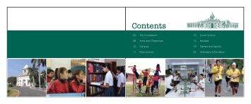 Contents - Yadavindra Public School, Patiala