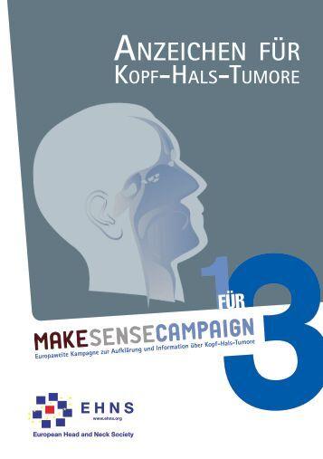 Anzeichen für - Kopf-Hals-Krebs