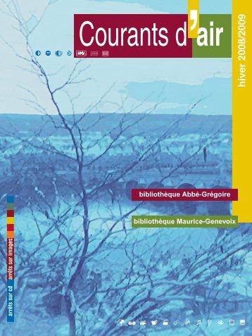 Hiver 2008 - Les bibliothèques de la ville de Blois