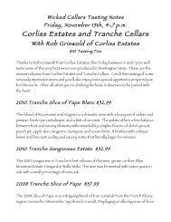Corliss Estates and Tranche Cellars