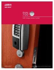 CORBIN RUSSWIN Access 700 PWI1 Catalog - PERSONA Campus