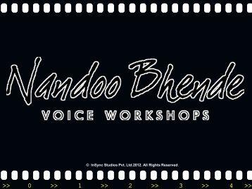 Nandoo Bhende Voice Workshops - Training profile.pdf