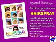 HAIRSPRAY - Visual Hollywood