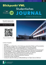 Download PDF [ca. 6.2 MB] - Blickpunkt-VWL Studentisches Journal