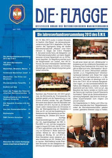 Ausgabe 02 / 2013 - Österreichischer Marineverband