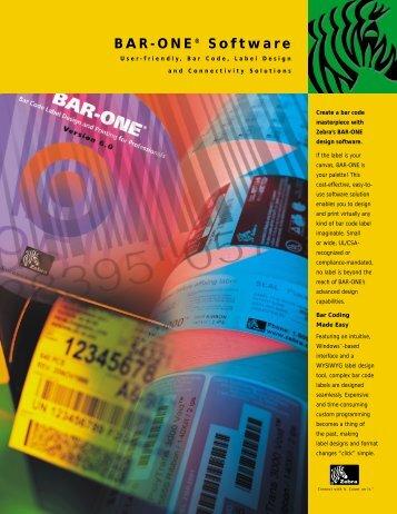 BAR-ONE® Software