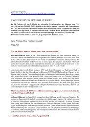 Was steckt hinter dem Mord an Hariri? - Anti-Imperialistische ...