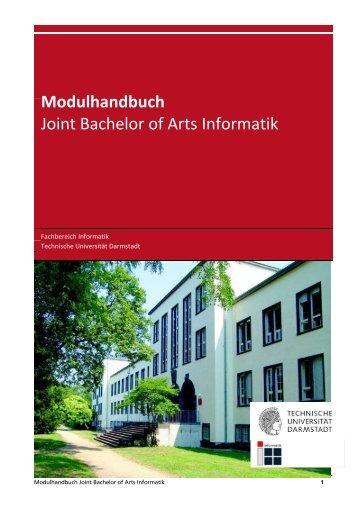Modulhandbuch Joint-BA Informatik - Technische Universität ...