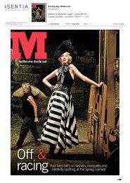 The Sunday Age M Magazine - Hecker Guthrie