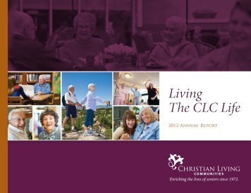 2012 Annual Report - Christian Living communities