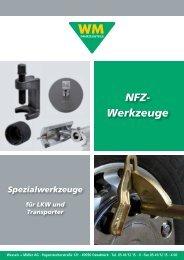 NFZ- Werkzeuge - Wessels + Müller AG