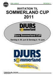 SOMMERLAND CUP 2011 - Grenaa IF Fodbold
