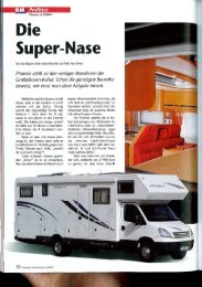 Das beste Reisemobil aller Zeiten, Testbericht als pdf - Top Camp AG