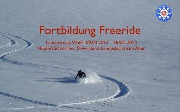Lauchernalp Wallis 09.03.2013 - NSV Ausbildung Alpin/Snowboard