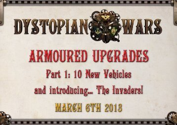 Part 1: 10 New Vehicles and introducing... The Invaders! - E-Figures