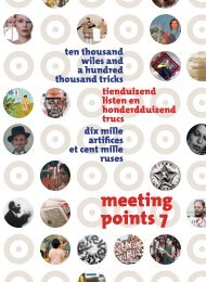 ten thousand wiles and a hundred thousand tricks ... - meeting points 7