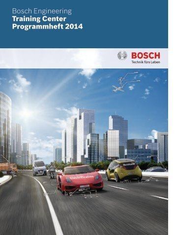 Schulungsangebot 2014 - Bosch Engineering