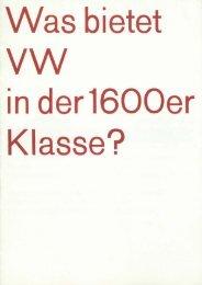 Was bietet - Volkswagen Classic