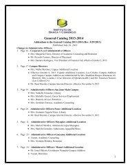 General Catalog 2013-2014 - Instituto de Banca y Comercio