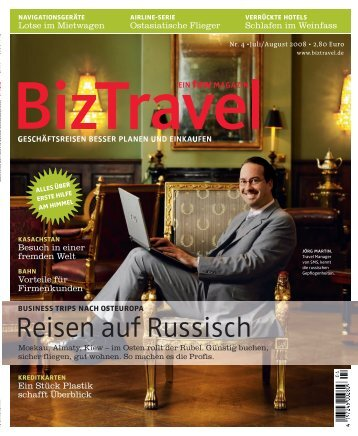 Appetit auf mehr - CTC Corporate Travel Consulting