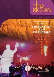 Ricean Newsletter 18 - April 2013 - Edmund Rice Education Australia