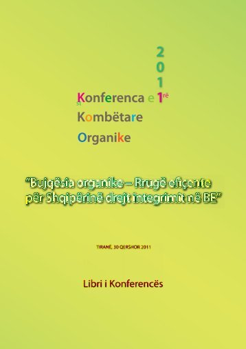 Conference Booklet - GARANCIA SHQIPTARE