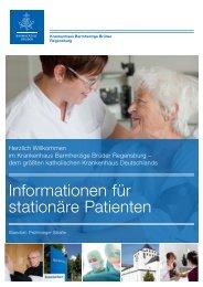 """Patienteninformation"" herunterladen (PDF) - Krankenhaus ..."