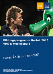 Das Kursprogramm als PDF - Musikschule Steinfurt