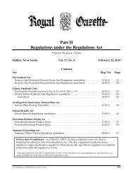 February 22, 2013 - Government of Nova Scotia