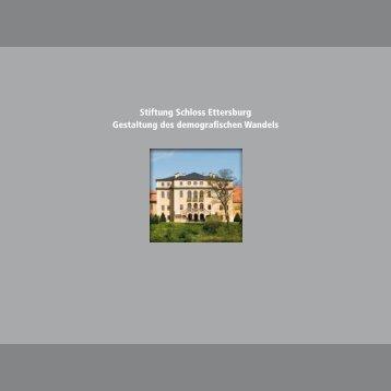 Imagebroschüre (pdf) - Stiftung Schloss Ettersburg