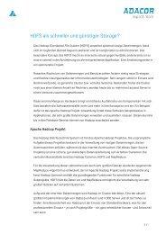 Artikel HDFS - ADACOR Hosting GmbH