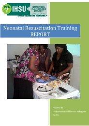 Neonatal Resuscitation Training REPORT - International Health ...