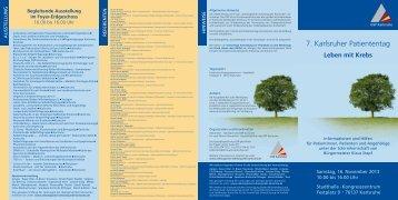 Download - Onkologischer Schwerpunkt Karlsruhe