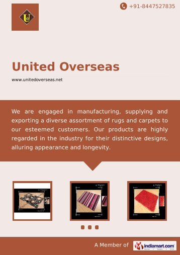 United Overseas, Panipat - Manufacturer & Exporter of Hand Tufted ...